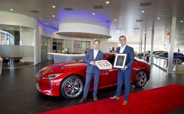 01-Lexus Amsterdam verkozen tot top 10 beste Lexus dealers van Europa