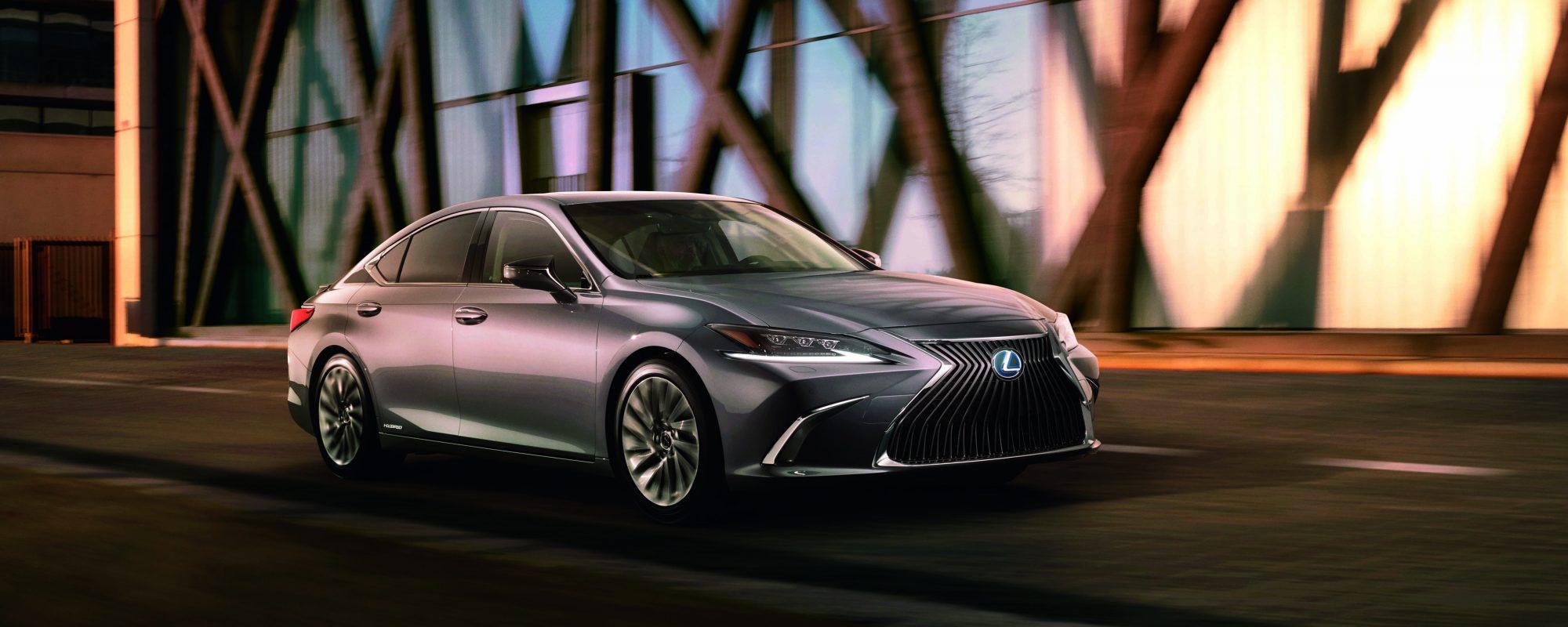Nieuwe Lexus ES voor het eerst ook naar Europa