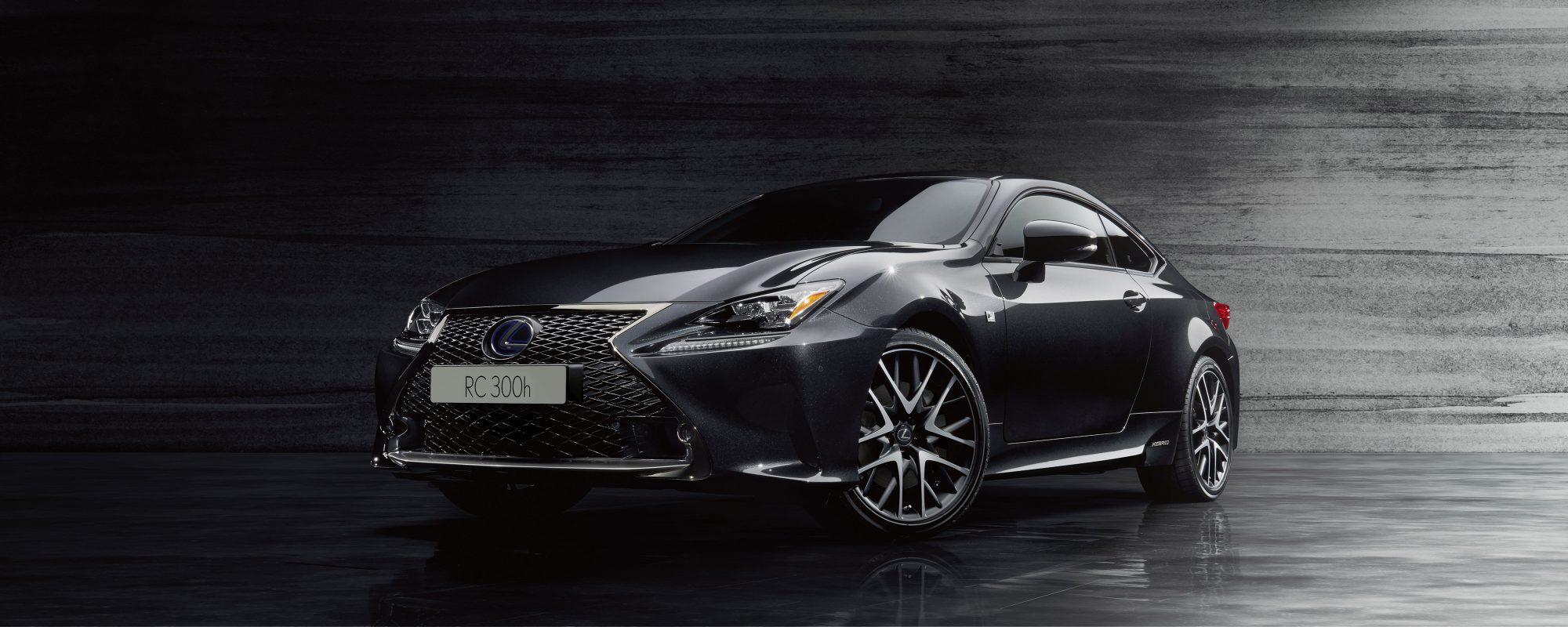 Nieuwe Lexus RC F SPORT Black Edition