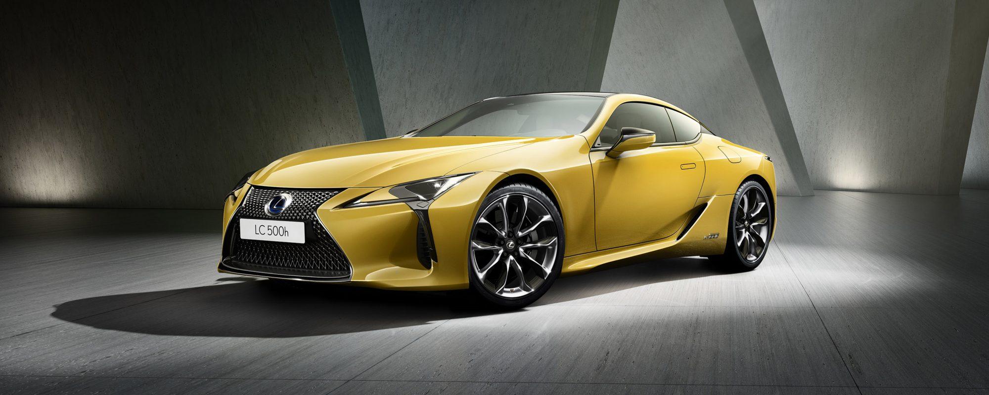 Lexus presenteert betoverende versie van LC