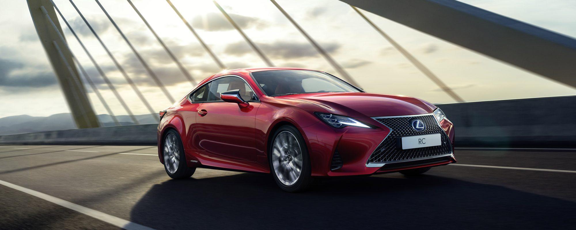 Werelddebuut voor nieuwe Lexus RC: nog scherper en nog verfijnder