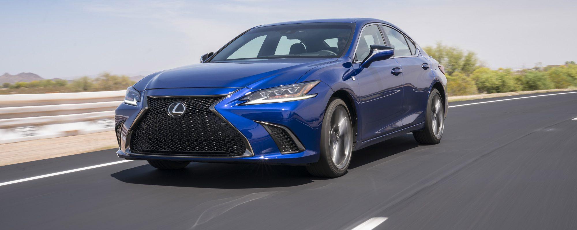 Optimale prestaties en verfijning op hoogste niveau in nieuwe Lexus ES