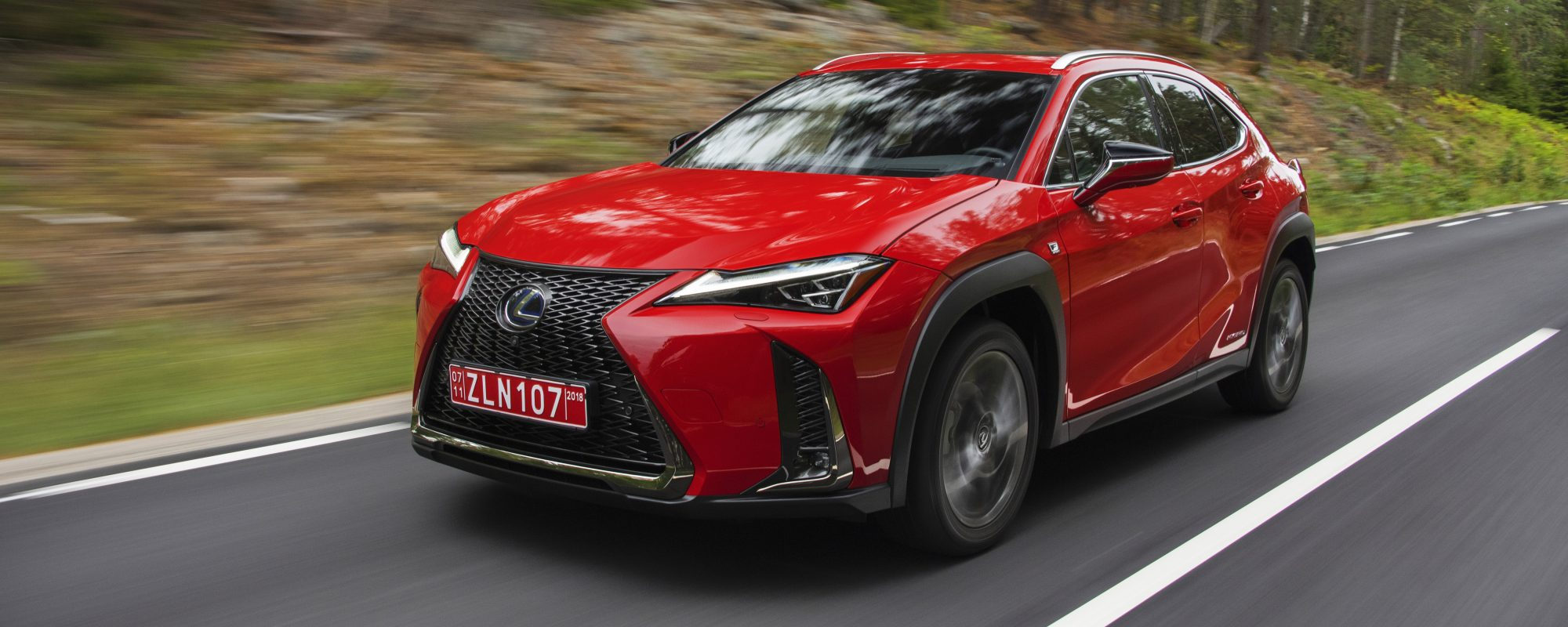 Nieuwe Lexus UX: de compacte premium crossover geperfectioneerd