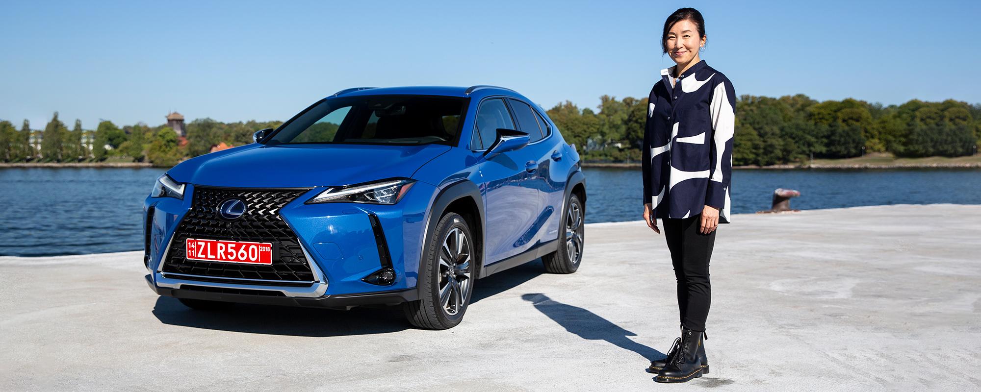 In gesprek met Chika Kako, hoofdingenieur Lexus UX