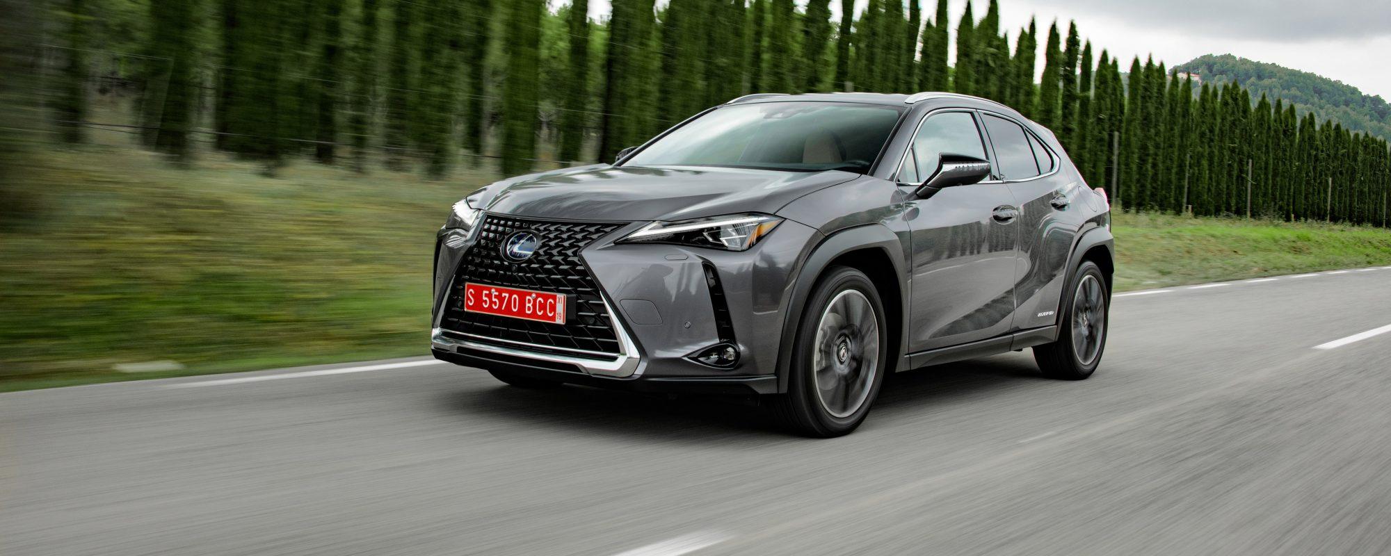 Nieuwe Lexus UX 250[h]: compromisloze Full Hybrid prestaties en verfijnd vakmanschap