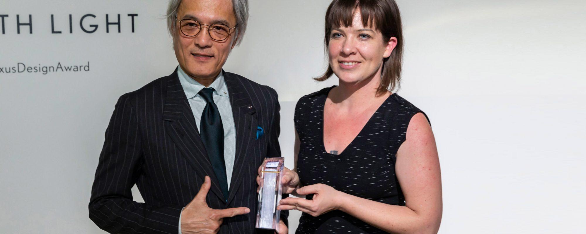 'Algorithmic Lace' van Lisa Marks wint Lexus Design Award 2019