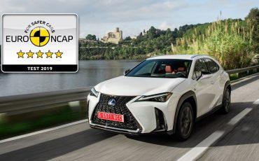 01-Lexus-UX-scoort-vijf-sterren-bij-Euro-NCAP-crashtest