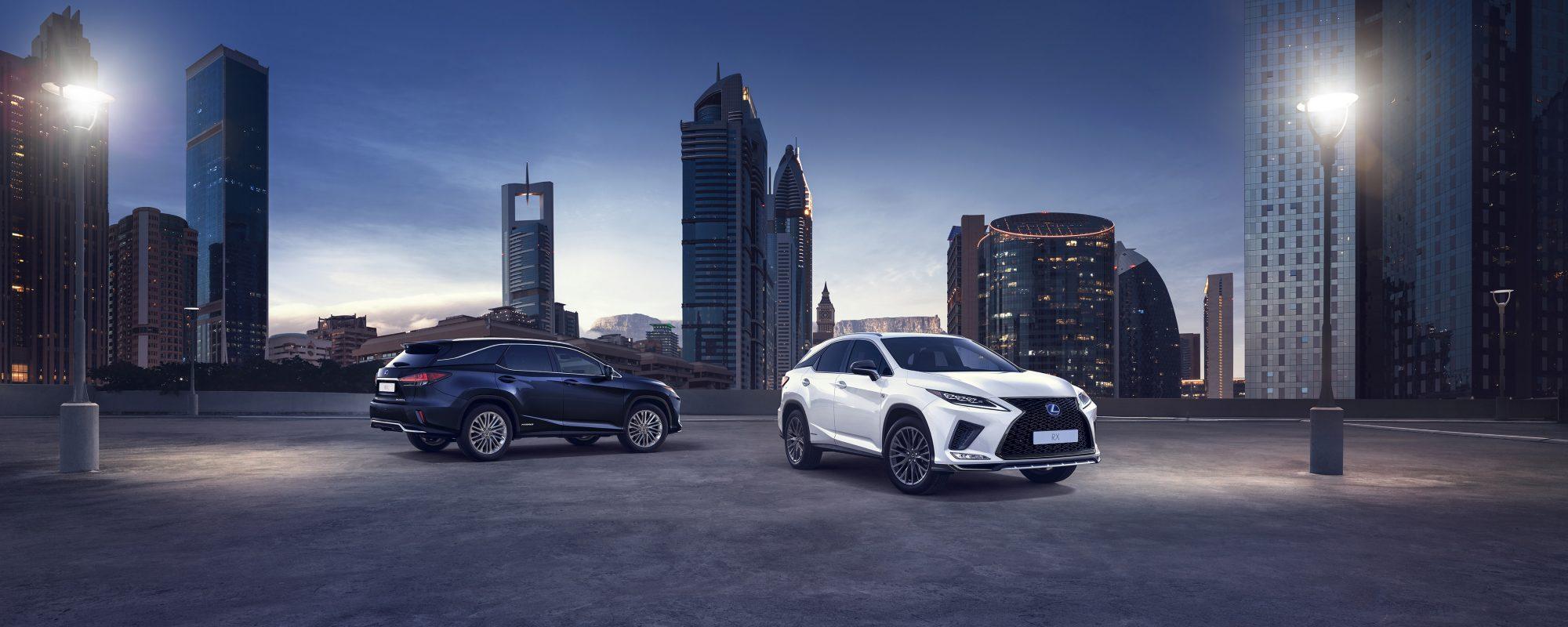 Vernieuwde Lexus RX 450[h]: comfort, luxe en veiligheid van een nog hoger niveau