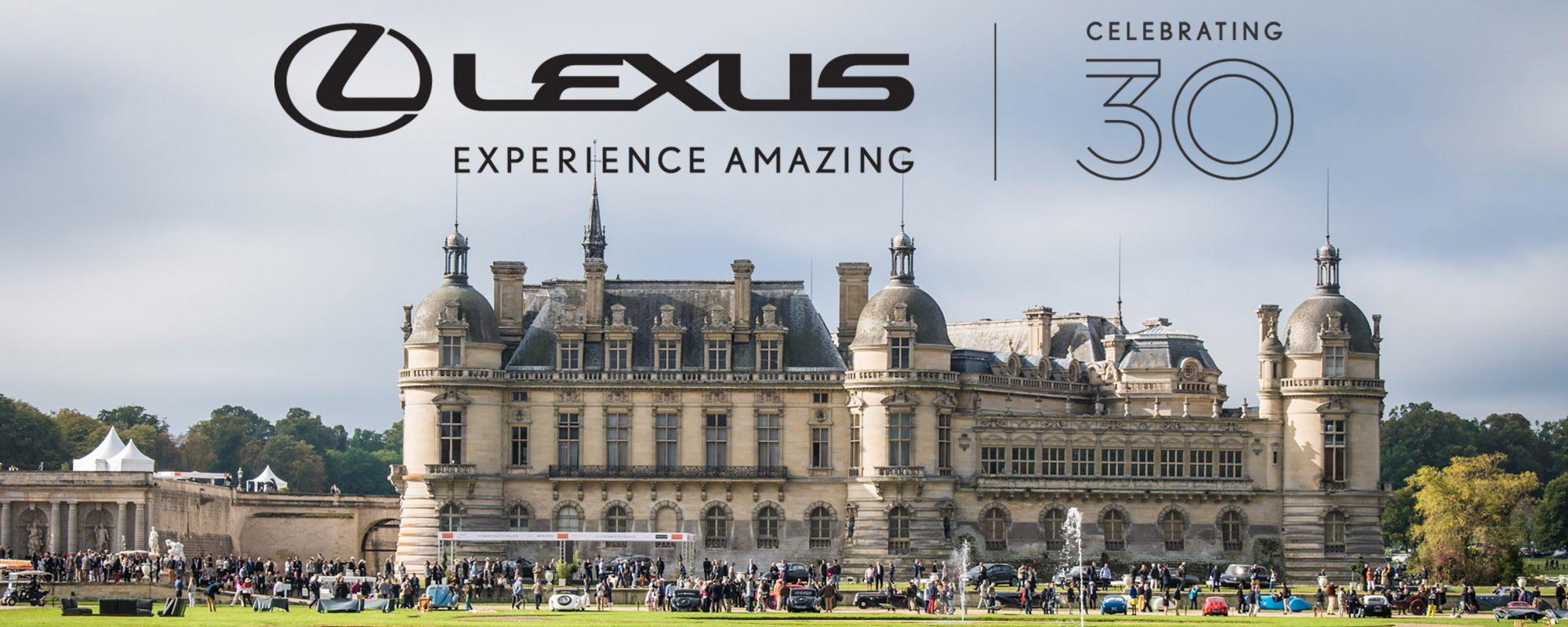 Lexus viert dertigste verjaardag tijdens Chantilly Arts & Elegance Richard Mille 2019