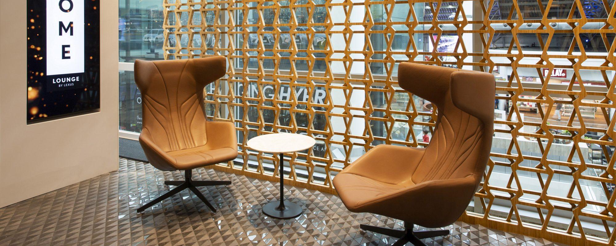 Lounge van Lexus op Brussels Airport beste in Europa