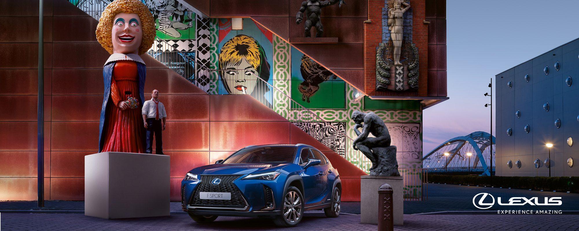 Unieke proefrit nieuwe Lexus UX: Urban Art Tour