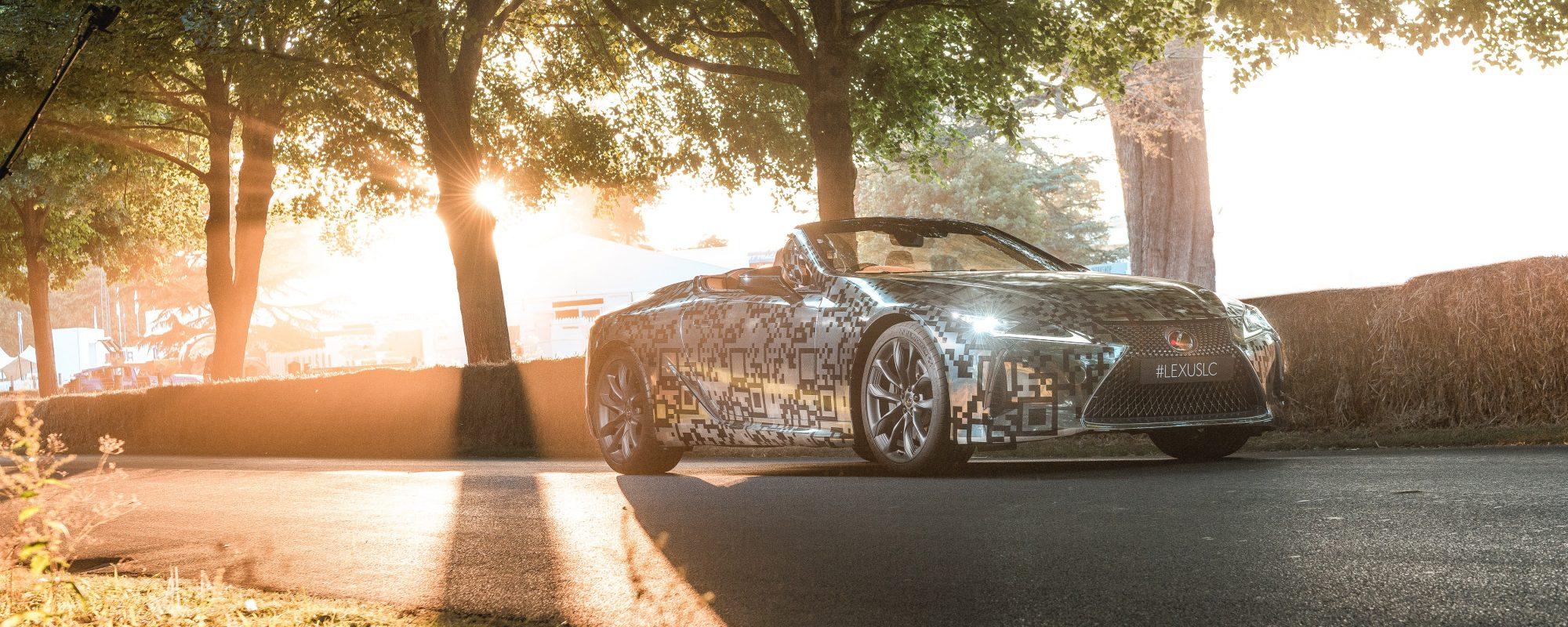 Lexus bevestigt productie cabriolet-uitvoering LC