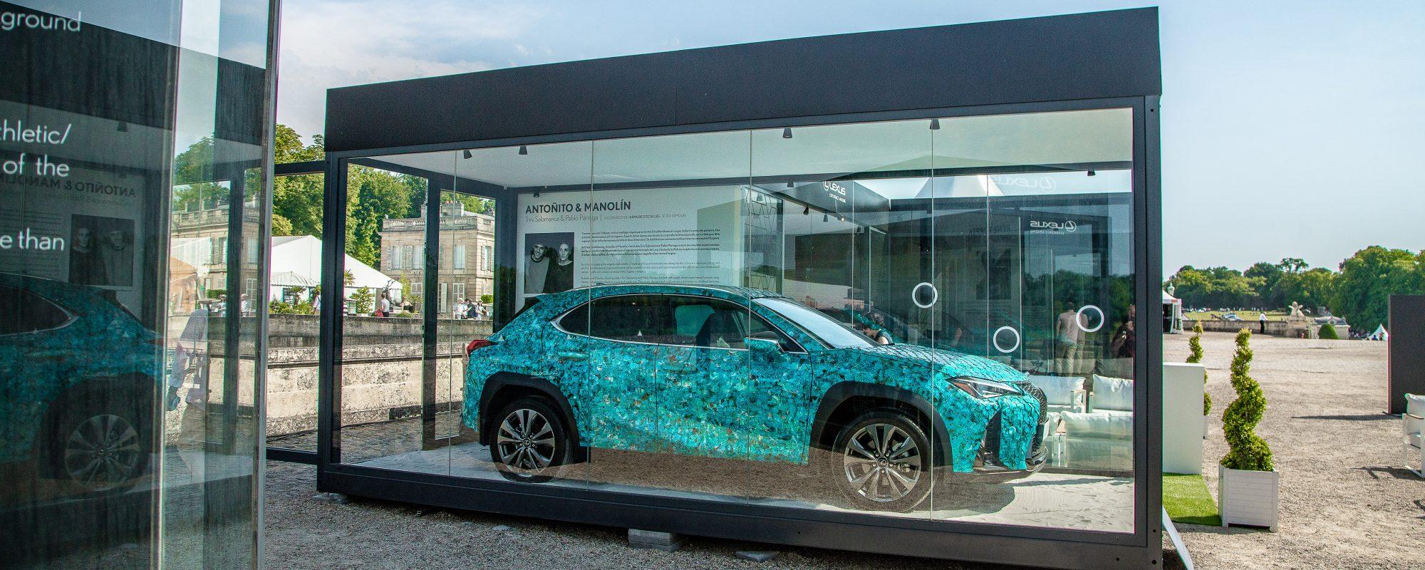 Lexus maakt winnaar UX Art Car-ontwerpwedstrijd bekend