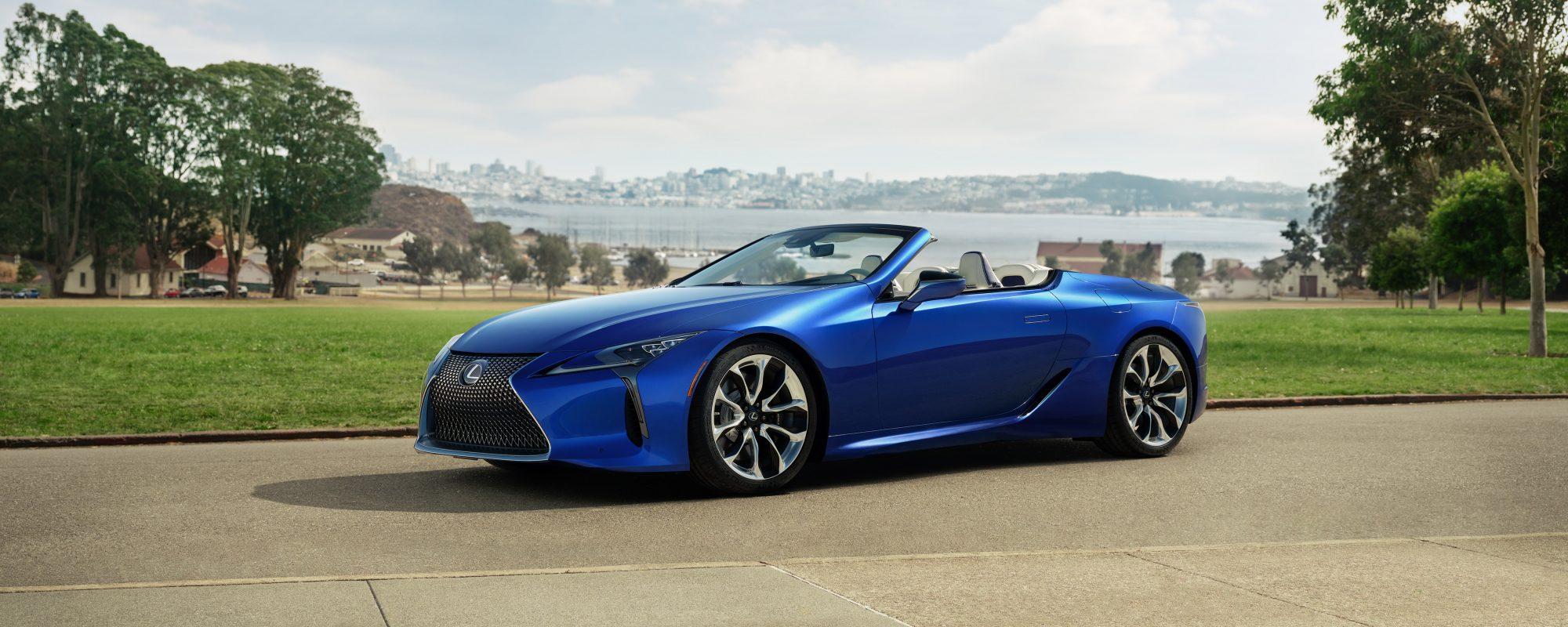 Open voor rijplezier: nieuwe Lexus LC 500 Convertible