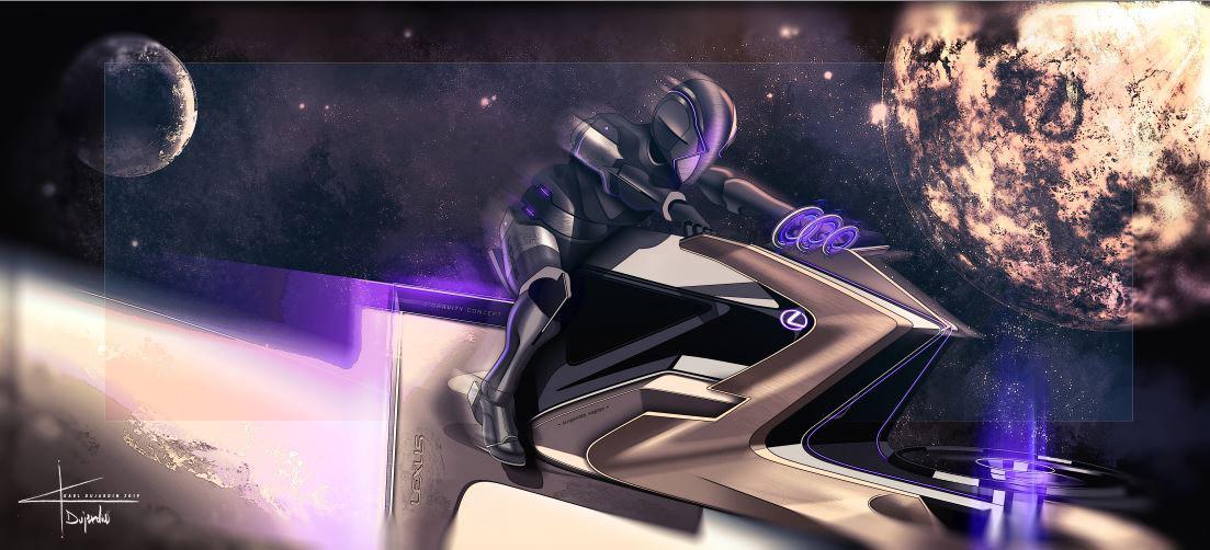 Leven op de maan: Lexus Zero Gravity concept