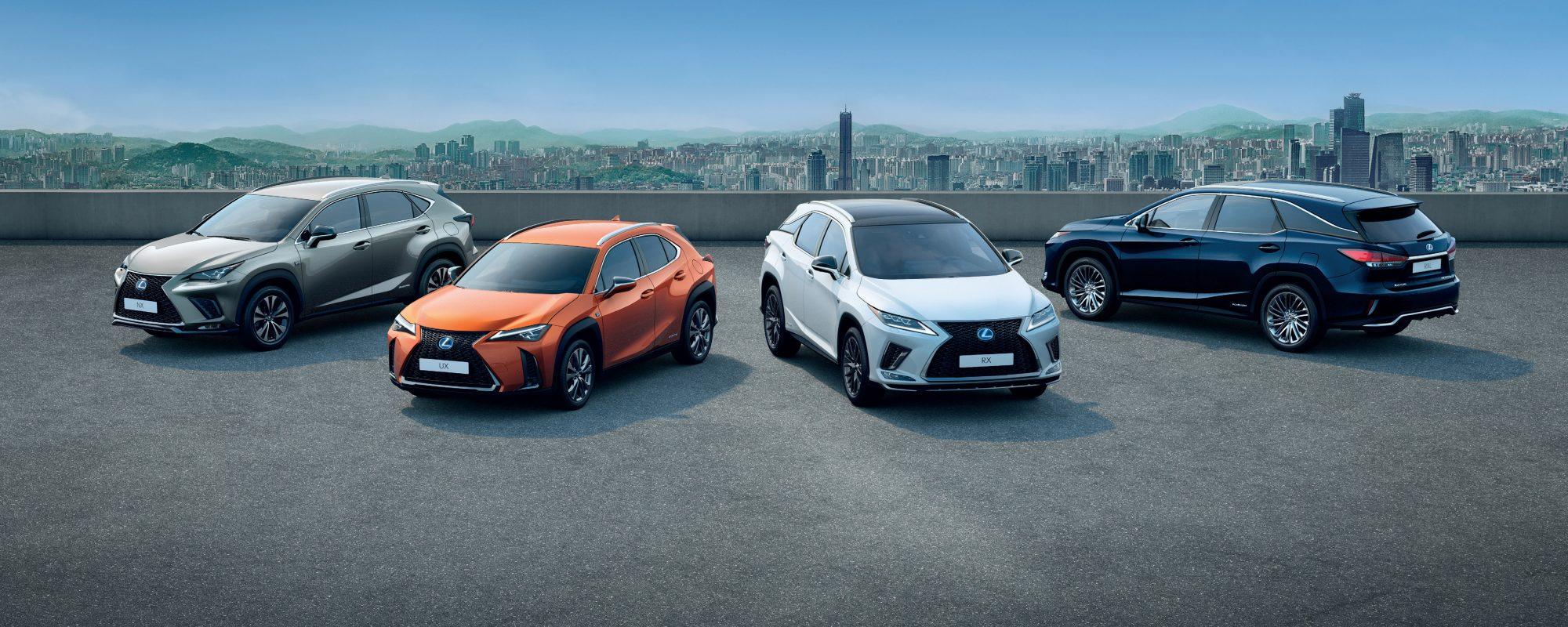 Nieuw verkooprecord én zesde jaar van groei op rij voor Lexus in Europa