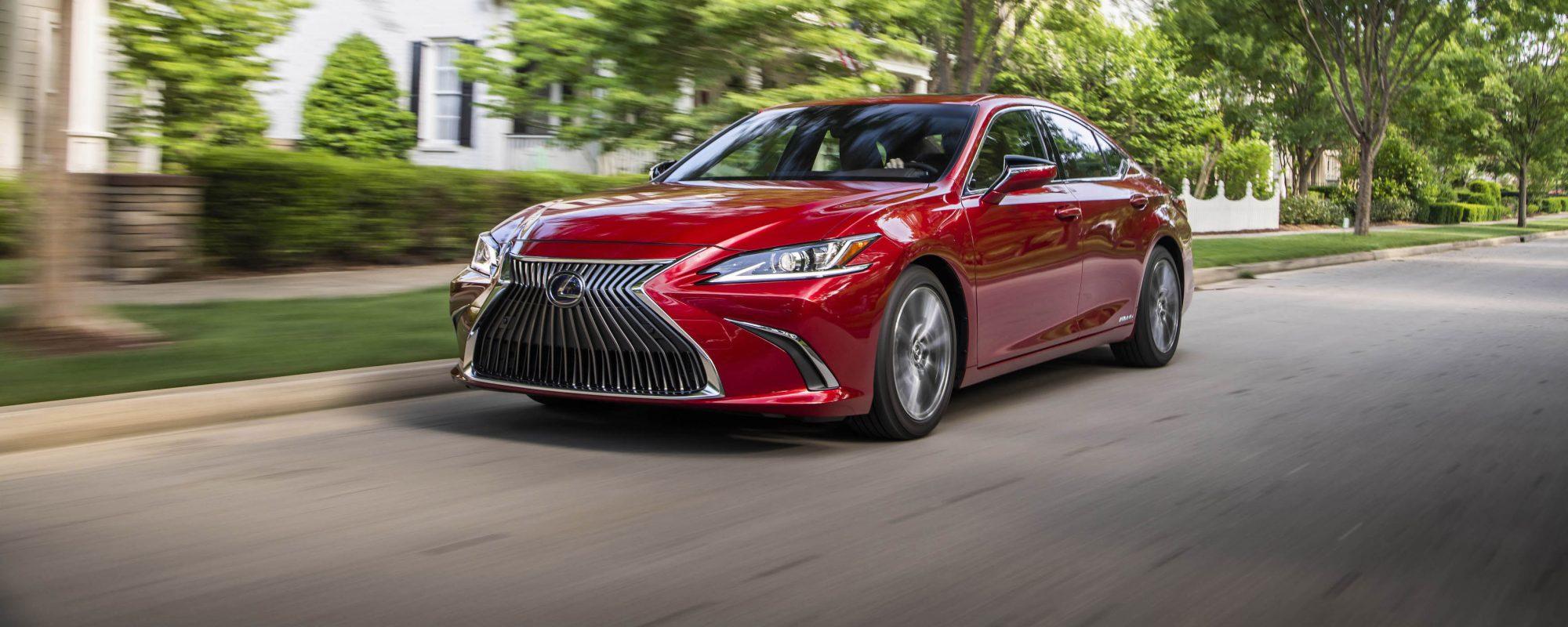 Lexus ES: beste betrouwbaarheidsscore ooit in de historie van J.D. Power