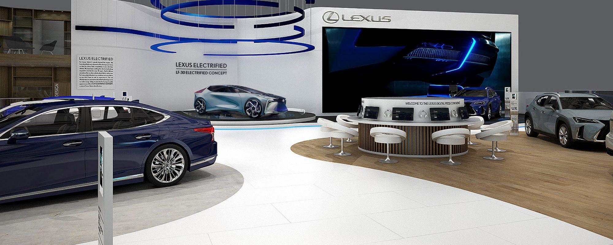 Lexus op de Geneva Motor Show 2020: persinfo