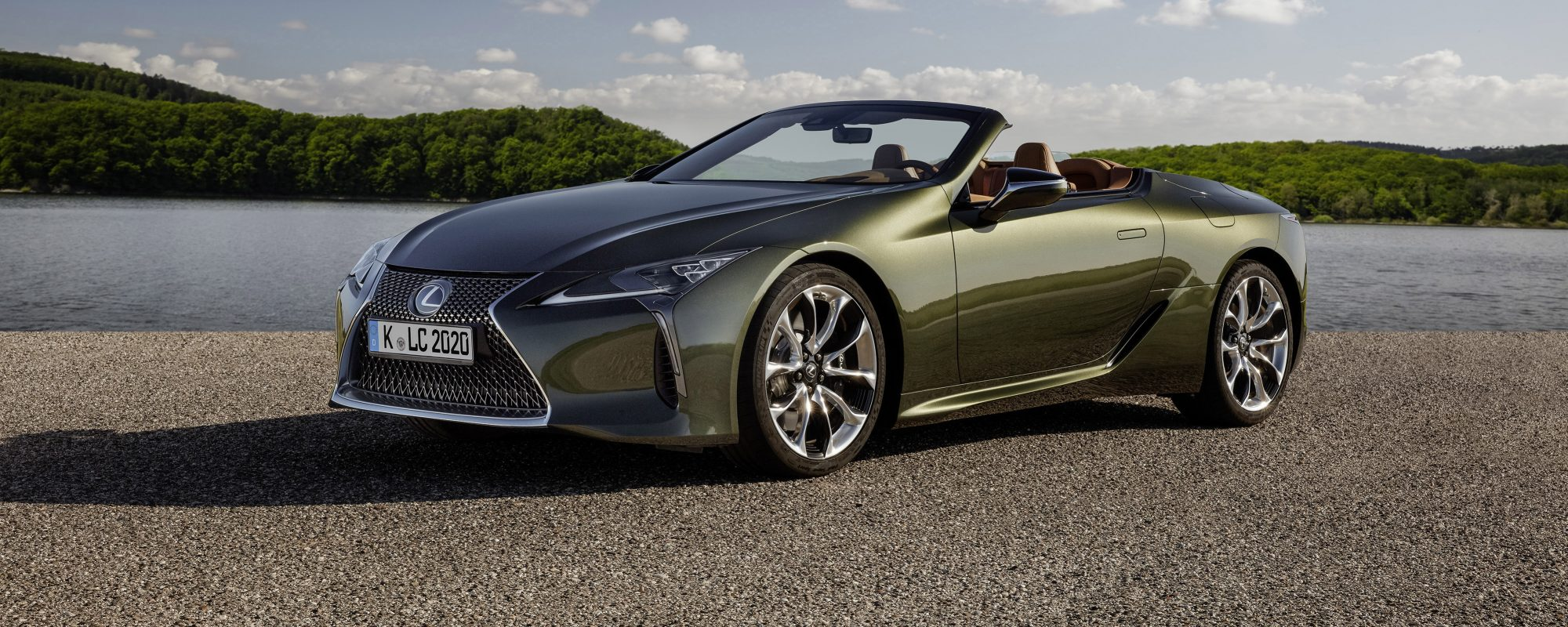 Lexus maakt prijs Lexus LC 500 Convertible bekend