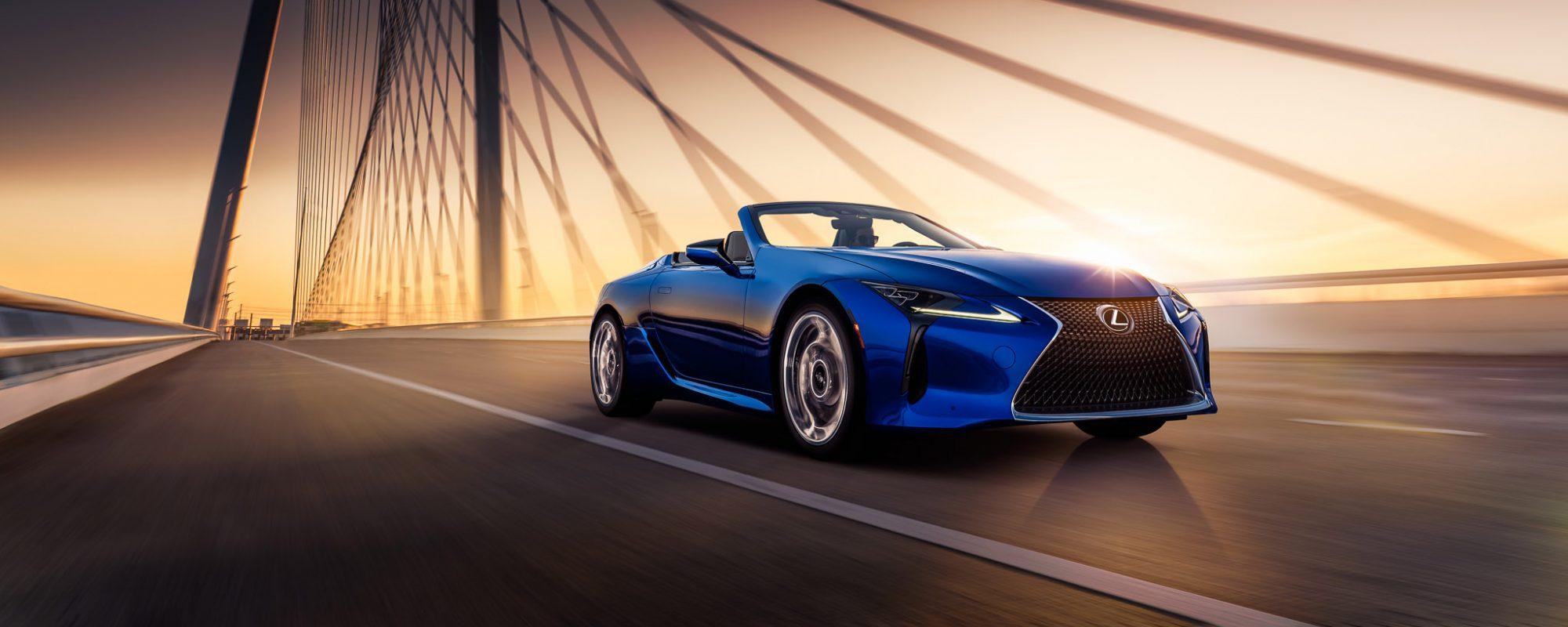 Nautische inspiratie: Lexus LC Convertible Regatta Edition