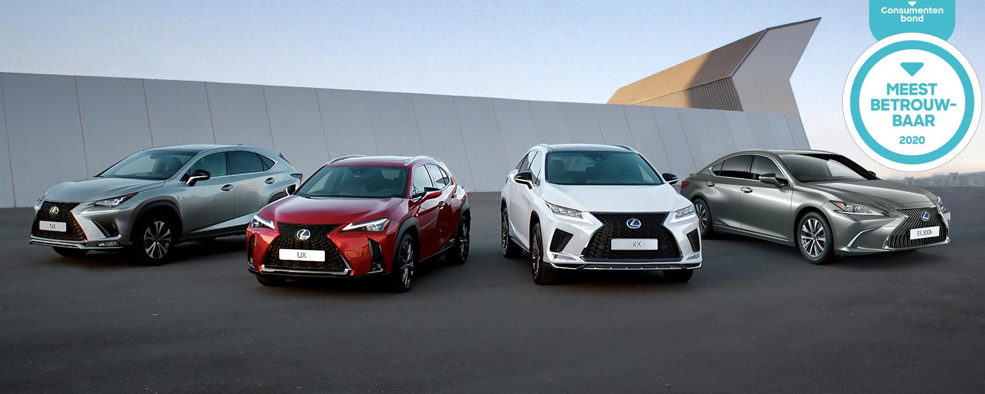 Consumentenbond: Lexus Meest Betrouwbare Merk 2020