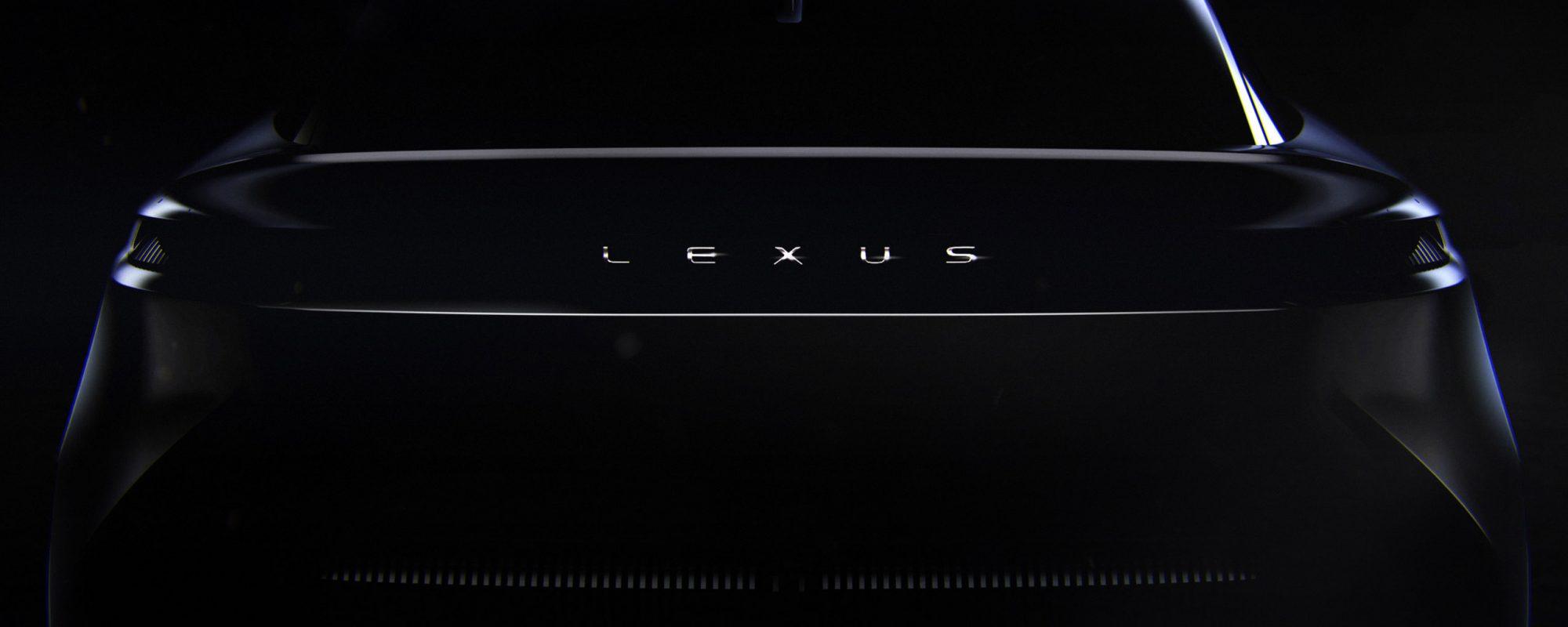 Lexus kondigt dit voorjaar een concept‑car aan