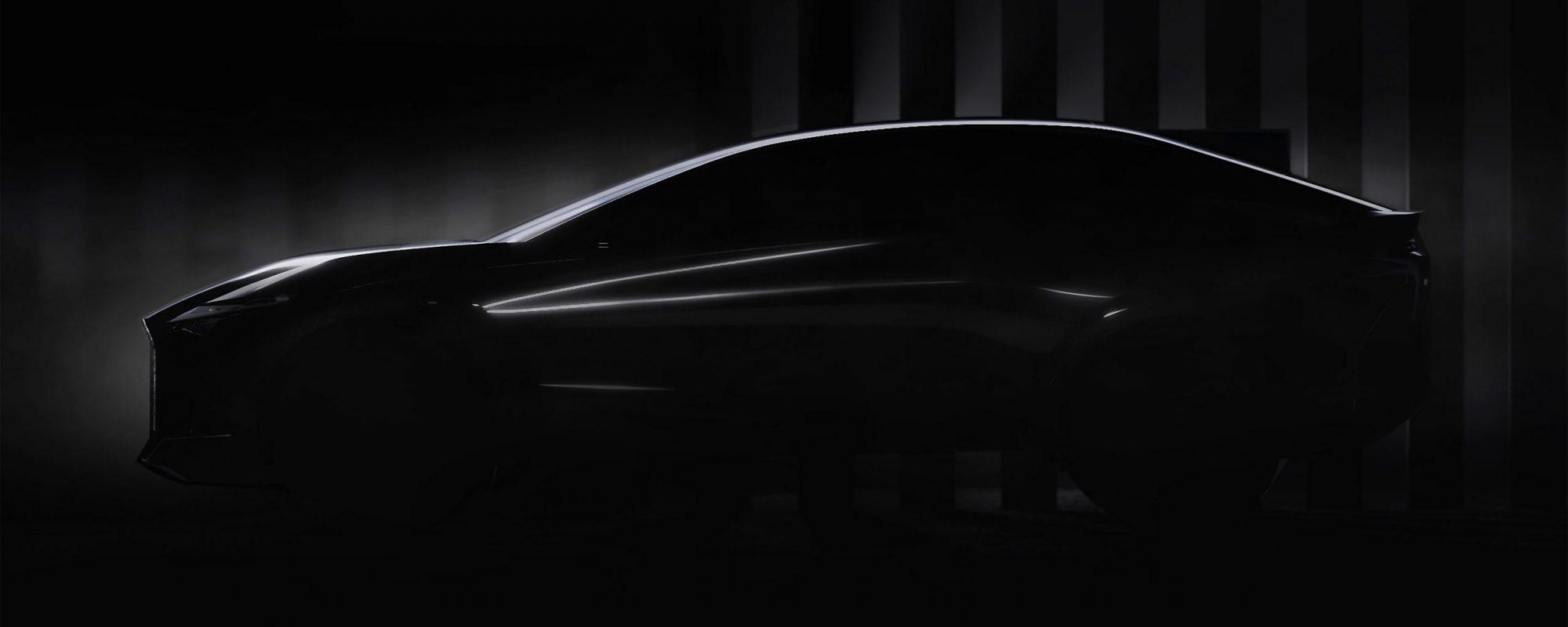 Lexus laat preview nieuwe conceptcar zien