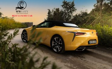 Lexus LC 500 Convertible: Best Luxury Car bij Women's World Car of The Year-verkiezing