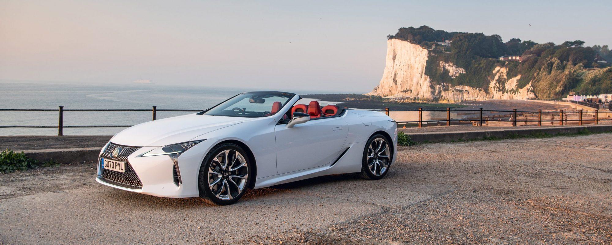 'Best Open Top': Lexus LC 500 Convertible opnieuw in de prijzen