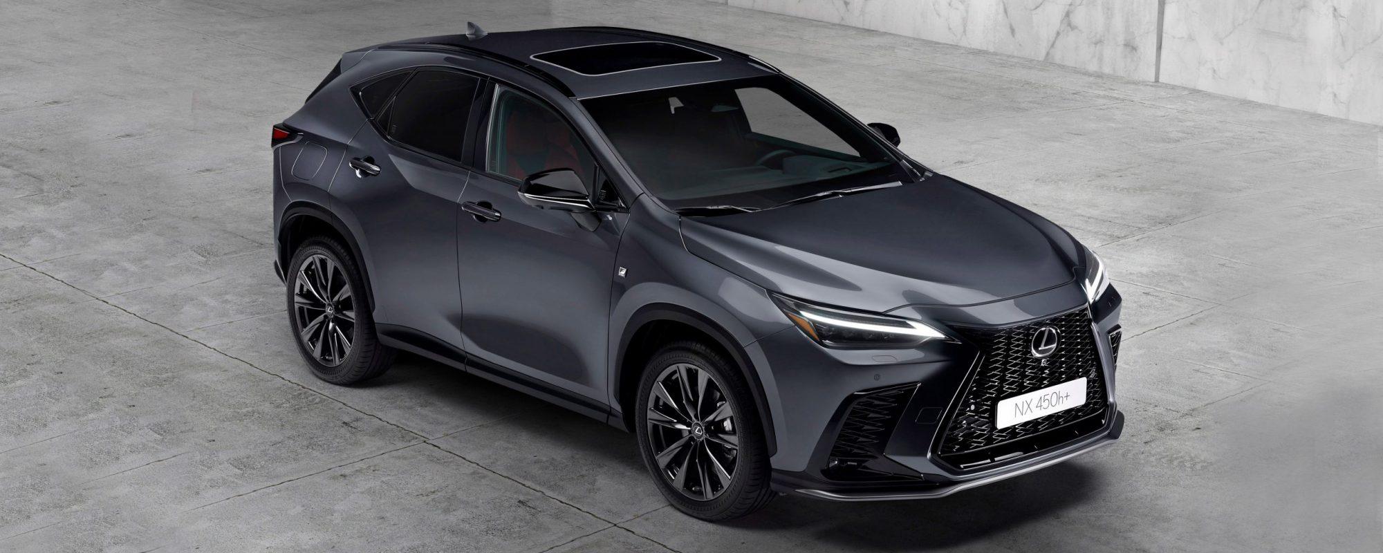 Nieuwe generatie Lexus NX, eerste Lexus als Plug-in Hybrid