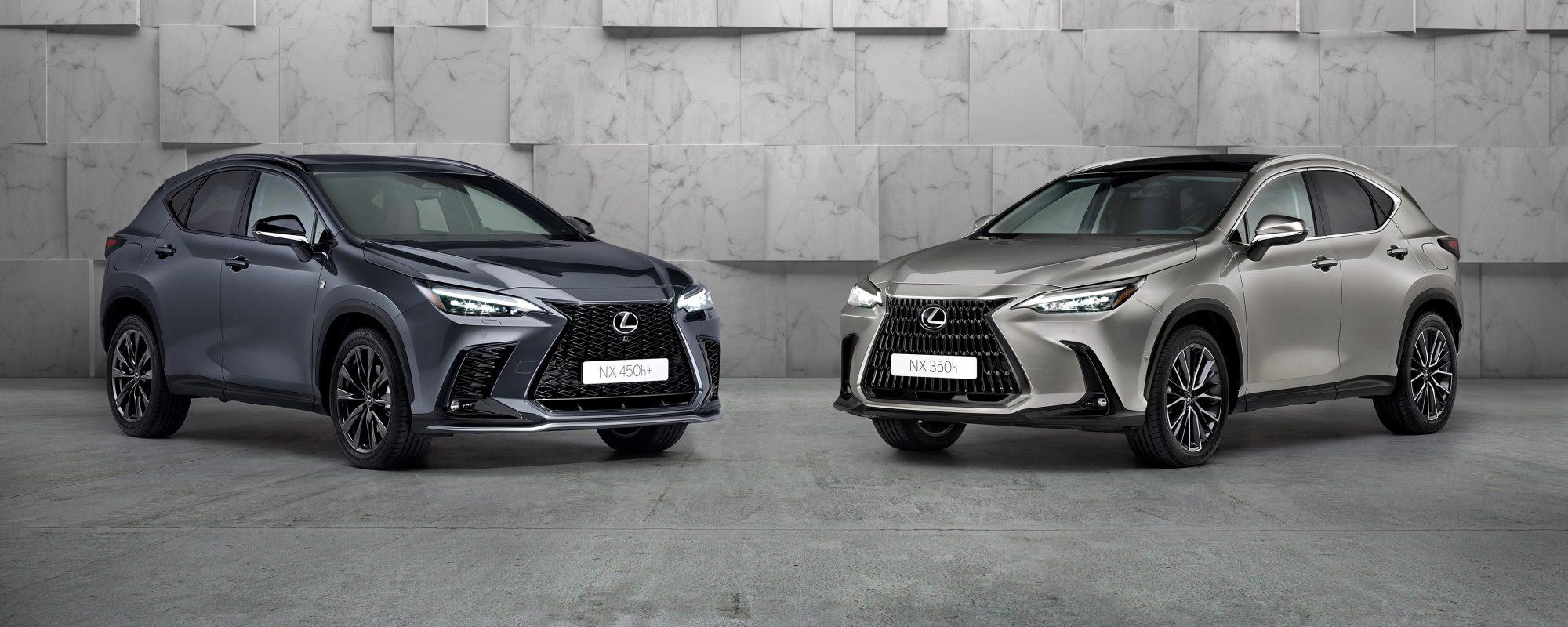 Lexus maakt vanafprijs nieuwste generatie Lexus NX bekend