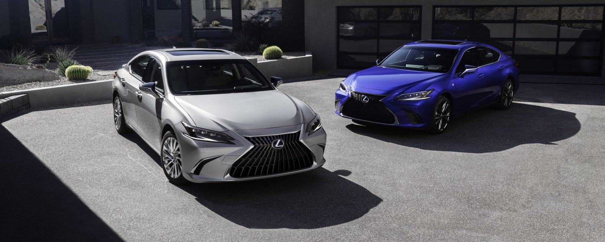 Lexus maakt prijzen vernieuwde ES 300[h] bekend