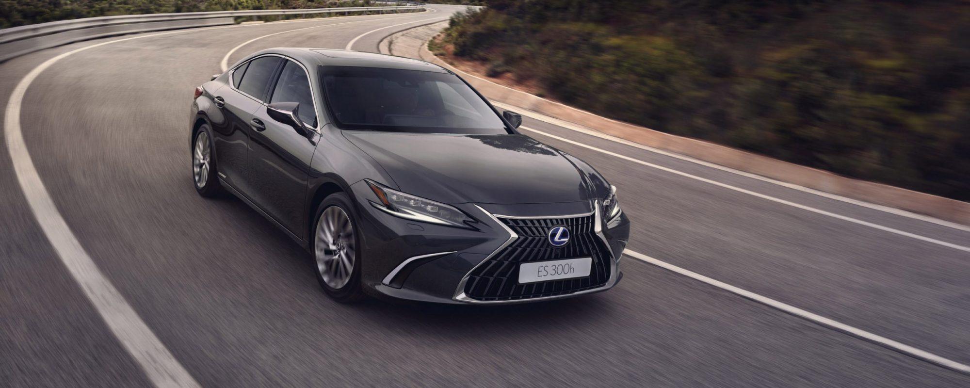 Verfijning tot in detail: de vernieuwde Lexus ES